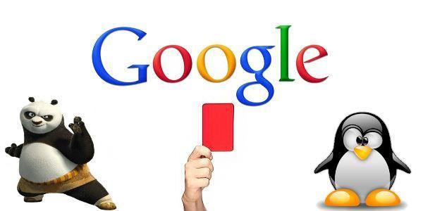 Tipi di penalizzazioni di Google: da Penguin a Panda