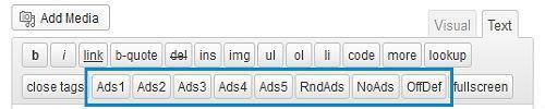 Plugin WordPress Adsense per i banner pubblicitari