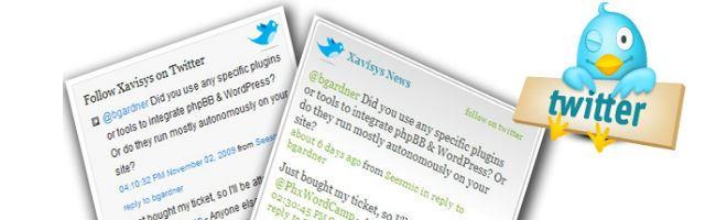 Twitter plugin Widget PRO